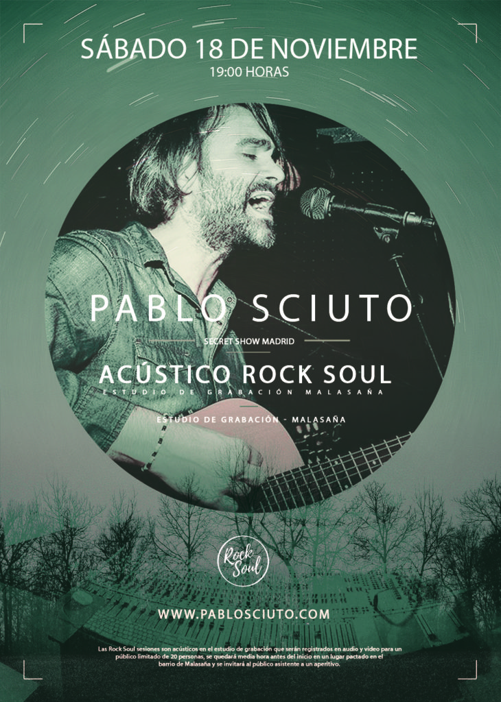 flyer rocksoul acustico mini